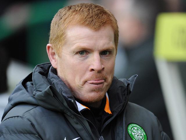 Celtic manager Neil Lennon on the touchline on December 29, 2012