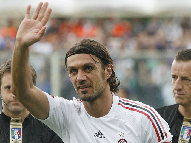 Paolo Maldini on May 31, 2009
