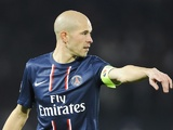 PSG's Christophe Jallet in action on November 6, 2012