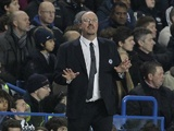 Chelsea manager Rafa Benitez on the touchline at Stamford Bridge on January 2, 2013