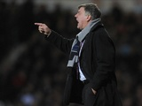 West Ham manager Sam Allardyce on the touchline against Norwich on January 1, 2013