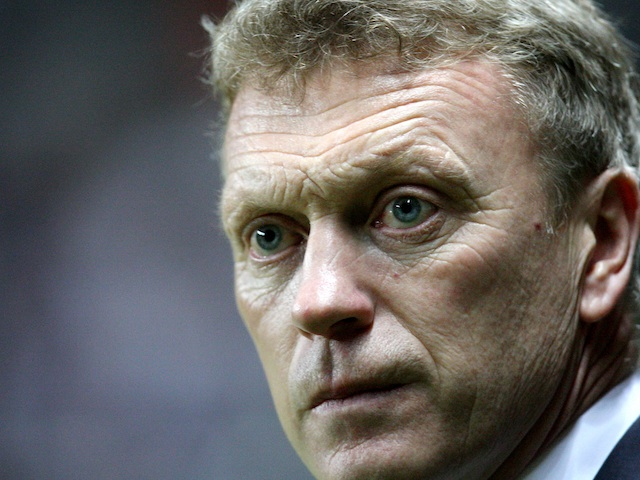 Everton boss David Moyes on the touchline at Newcastle on January 2, 2013