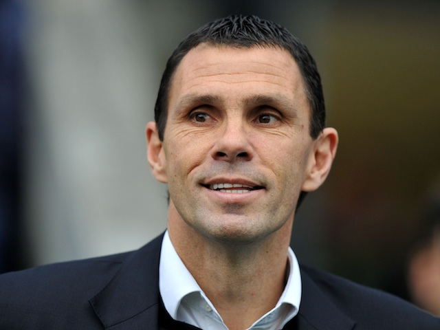 Brighton boss Gus Poyet watches on during the third round tie with Newcastle on January 5, 2013
