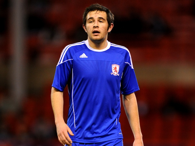 Middlesbrough's Matthew Dolan in FA Youth Cup action on February 2, 2011