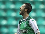 Hibernian's Ivan Sproule on August 28, 2011