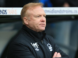 Nottingham Forest manager Alex McLeish on the touchline during the match against Derby on January 19, 2013