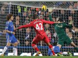 Jason Puncheon nets his team's second goal against Chelsea on January 16, 2013