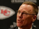 New Kansas City Chiefs general manager John Dorsey on January 14, 2013