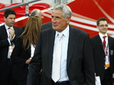 Norman Hunter moments before being awarded his 1966 World Cup medal during the interval of an England match at Wembley on June 10, 2009