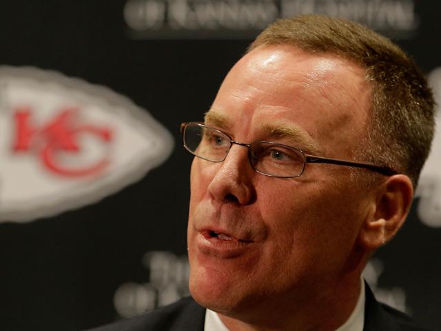 New Kansas City Chiefs general manager John Dorsey on January 14, 2013