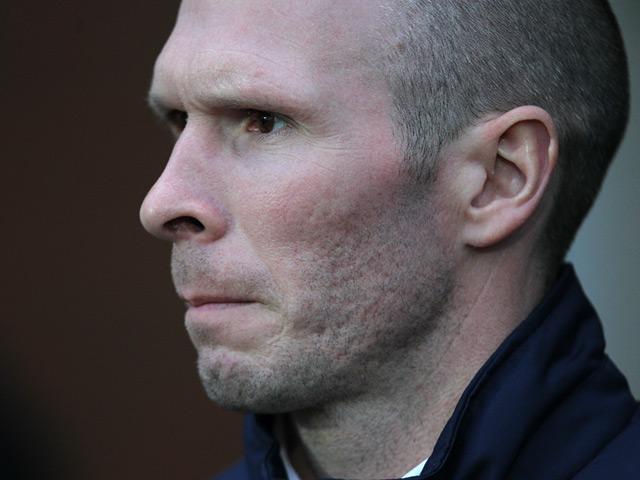 New Blackburn boss Michael Appleton during the match against Charlton on January 19, 2013