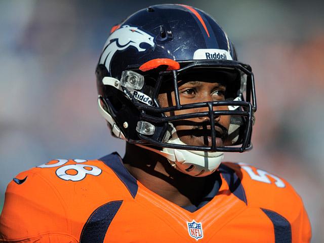 Denver Broncos' Von Miller on December 23, 2012
