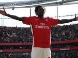 Emmanuel Adebayor for Arsenal in 2009