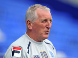 Tranmere Rovers manager Ronnie Moore during his sides match against Coventry City on September 15, 2012