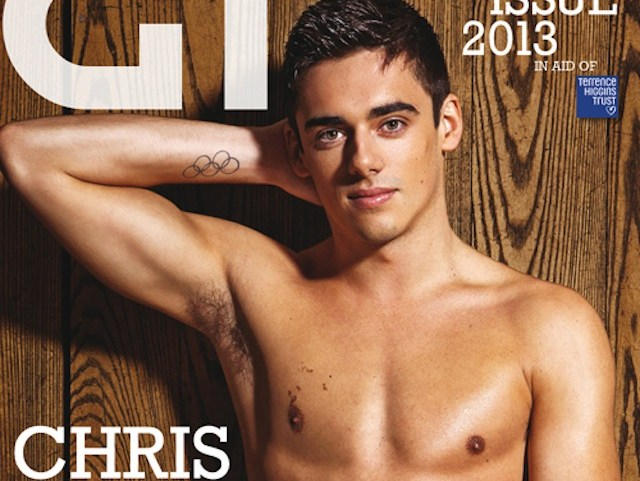 Chris Mears strips for Gay Times mag (4x3 version)