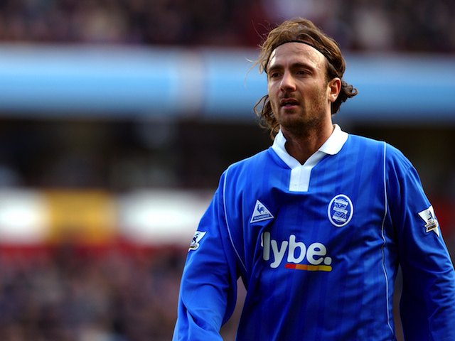 Christophe Dugarry for Birmingham City in 2003