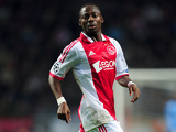 Ajax player Eyong Enoh during his team's match against Dinamo Zagreb on November 2, 2011
