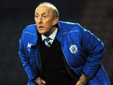 Huddersfield Town caretaker manager Mark Lillis during his team's match against Crystal Palace on January 30, 2013