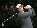 Richard Sterne of South Africa during the 2012 Open Championship on July 20, 2012