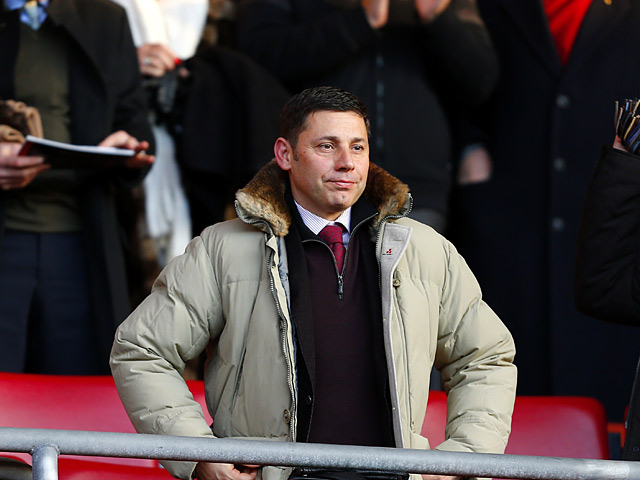 Southampton chairman Nicola Cortese on December 8, 2012