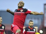 Bristol City's Marvin Elliott celebrates after scoring against Nottingham Forest on February 9, 2013