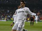 Real Madrid's Alvaro Morata scores against Rayo Vallecano on February 17, 2013