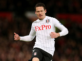 Fulham's Sascha Riether in action on January 26, 2013