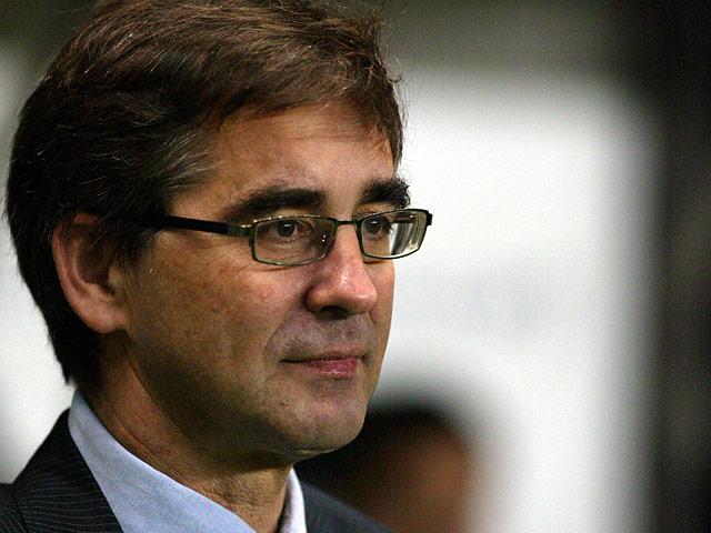 Celta Vigo manager Fernando Vazquez on November 23, 2006