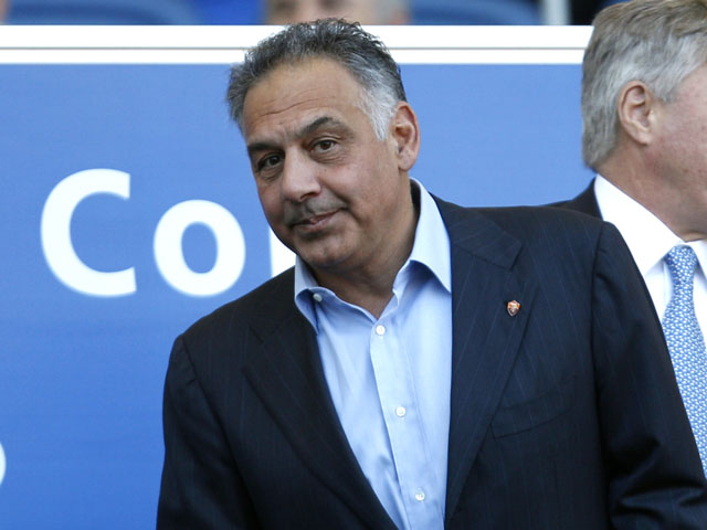 Roma president James Pallotta on January 8, 2012
