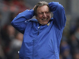 Leeds United manager Neil Warnock shows his frustration during his side's game with Blackburn Rovers on February 23, 2013