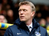 Everton boss David Moyes on the touchline at Carrow Road on February 23, 2013