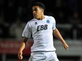 Aldershot player Troy Brown on November 20, 2012