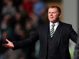Celtic's boss Neil Lennon on the touchline during the Scottish Cup quarter final against St Mirren on March 2, 2013
