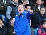 Leeds United boss Neil Warnock instructs his side from the touchline during the match against Millwall on March 2, 2013