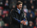 Southampton manager Mauricio Pochettino during his side's match against QPR on March 2, 2013