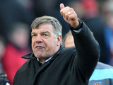 West Ham manager Sam Alladyce following his side's victory over Stoke City on March 2, 2013