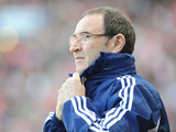 Sunderland manager Martin O'Neill during his team's match against Fulham on March 2, 2013