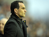 Wigan manager Roberto Martinez during his side's match against Liverpool on March 2, 2013