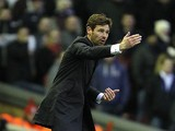 Spurs boss Andre Villas-Boas on the touchline during the match against Liverpool on March 10, 2013