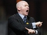 Dundee boss John Brown on the touchline on March 6, 2013