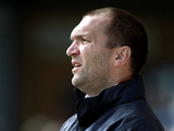 Neil Ruddock on the touchline on August 27, 2001