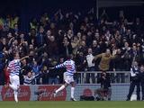 Queens Park Rangers striker Loic Remy celebrates scoring against Sunderland on March 9, 2013