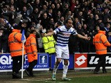 QPR's Andros Townsend celebrates after scoring his side's second goal in their match against Sunderland on March 9, 2013