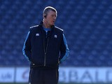 Scotland's interim defence coach Dean Ryan on February 23, 2013