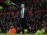 Reading caretaker manager Eamonn Dolan on the touchline against Man Utd on March 16, 2013