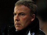Millwall boss Kenny Jackett ahead of the FA Cup quarter final match against Blackburn on March 13, 2013