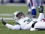 Former Jets safety LaRon Landry in action against the Bills on December 30, 2012