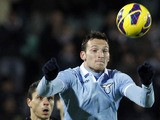 Lazio's Libor Kozak during his side's Seria A match against Siena on February 18, 2013