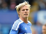 Chelsea's Tomas Kalas in action during a pre-season friendly on July 16, 2011