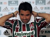 Footballer Deco during a press conference for his new team Fluminense  on August 9, 2010